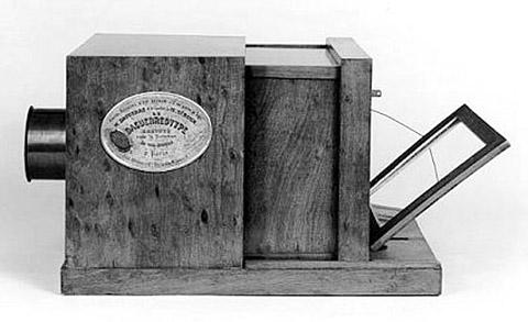 Cámara de daguerrotipo. 1840-1850 (aprox.)